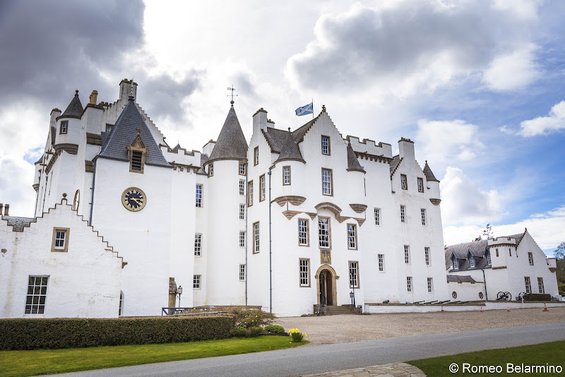 Blair Castle Best Castles in Scotland for a Road Trip Itinerary