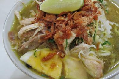 Kuliner Malang (soto geprak mbak djo)