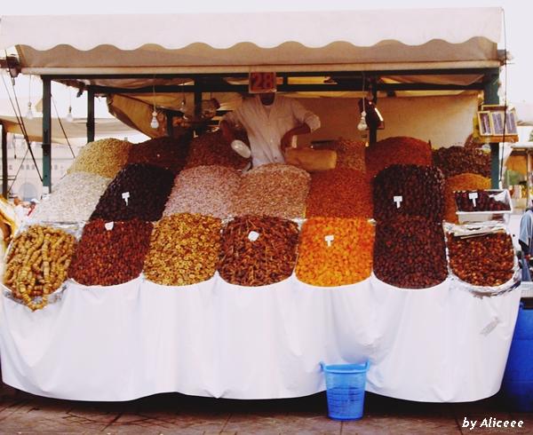 fructe-uscate-Marrakech
