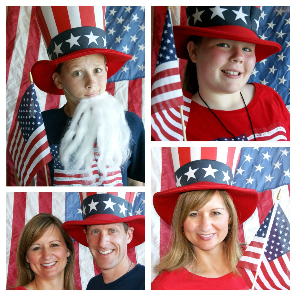Michelle Paige Blogs 4th Of July Photo Booth