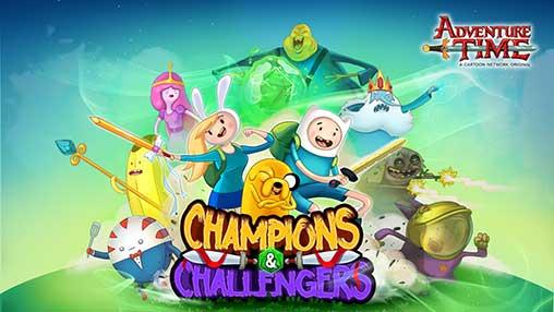 تحميل Champions and Challengers Adventure Time مهكرة