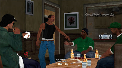gta sa access all missions mod cleo missão cutscene nines and aks