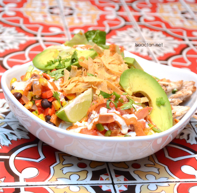 Sweet & Sour Chicken Fresh Mex Bowl (RM29.95)