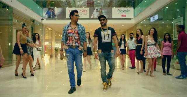 Randeep Hooda with Fazilpuria from the song Kharch Karod.
