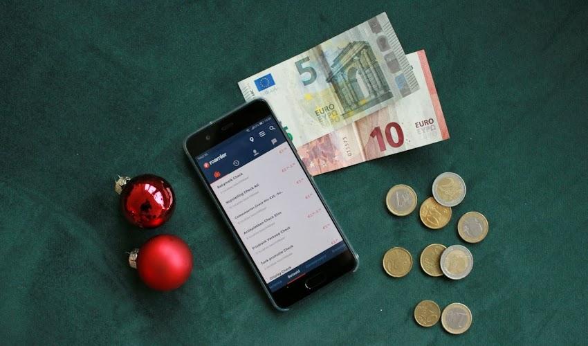 Extra geld verdienen in december met de app Roamler