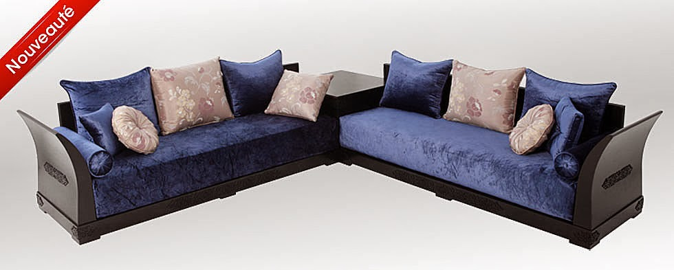 salon marocaine moderne le salon marocain moderne pas cher. Black Bedroom Furniture Sets. Home Design Ideas