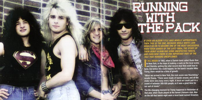 WHITE LION - Fight To Survive [Rock Candy remastered & reloaded] booklet