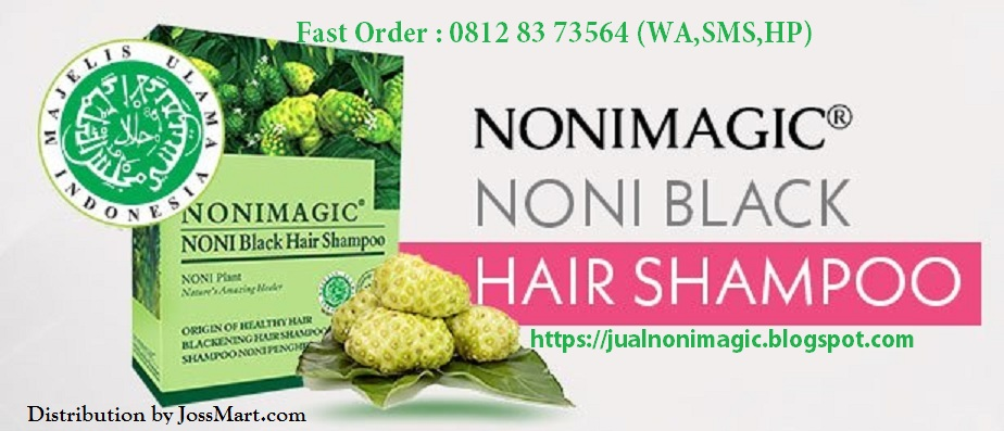 JUAL  NONI MAGIC BLACK HAIR SHAMPOO BSY ORIGINAL