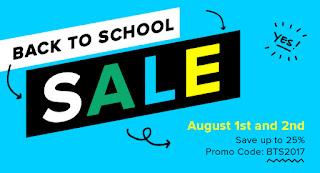 TPT Back to School Sale 2017