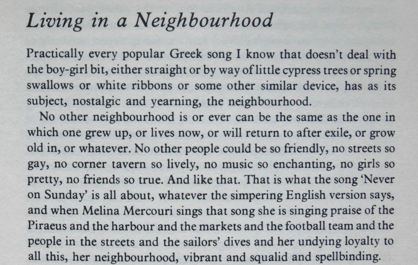 Corfu Blues and Global Views: Charmian Clift on Greek Songs