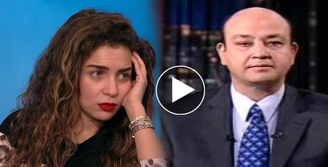 مي عز الدين تصدم عمرو أديب بما هو غير حقيقي في وجهها ؛ حقيقة لن تصدقها !!