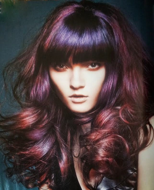The Juicy Beauty Word: Fun Hair Colors