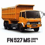 Mitsubishi Fuso Tronton FN 527 MS, 220 PS, 6x4, 10 Ban