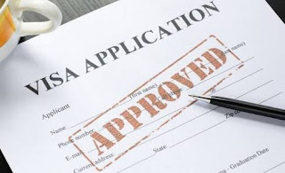 US visa application