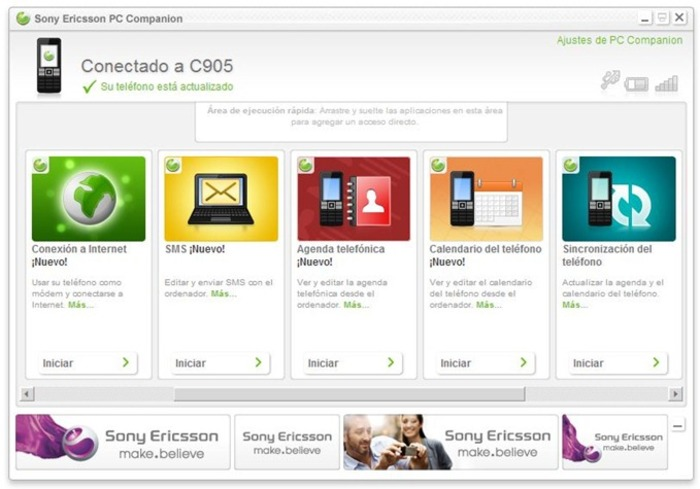 Sony ericsson xperia x10i pc suite free download   blogexpress.