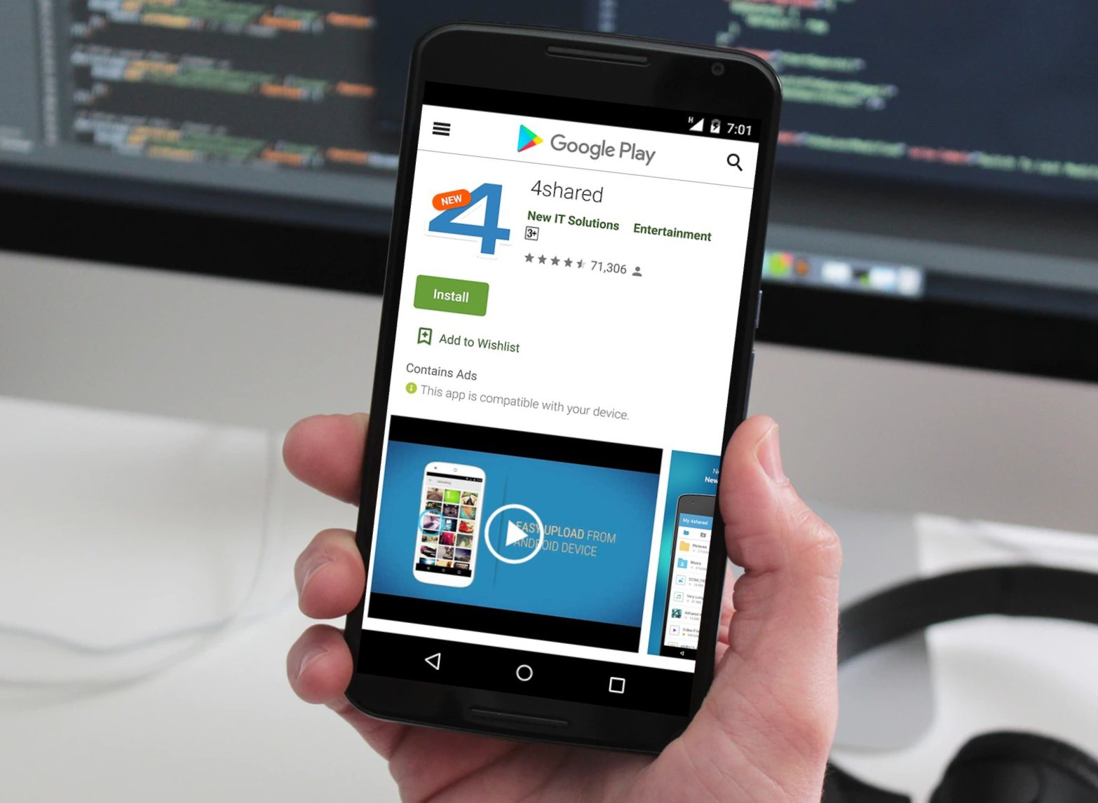 Popular File-Storage Android App Caught Using Adware