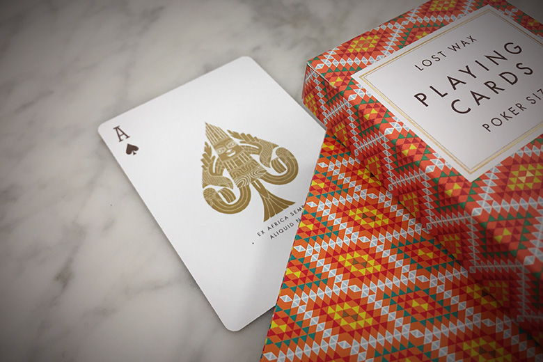 First Look: Lost Wax Playing Cards by Art of Play