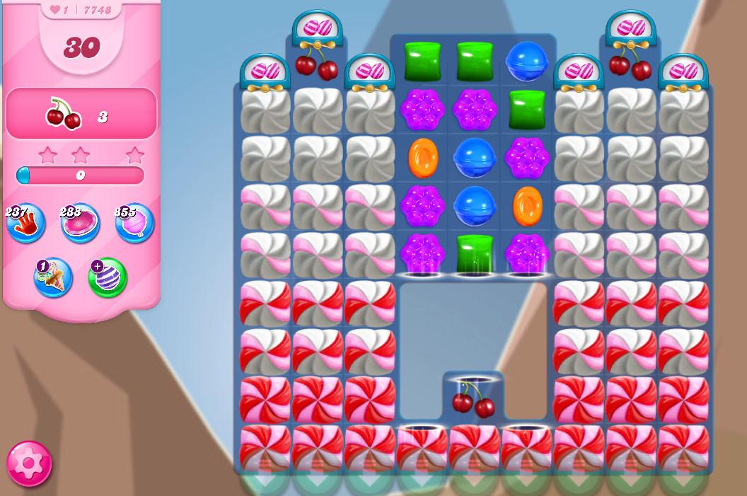 Candy Crush Saga level 7748