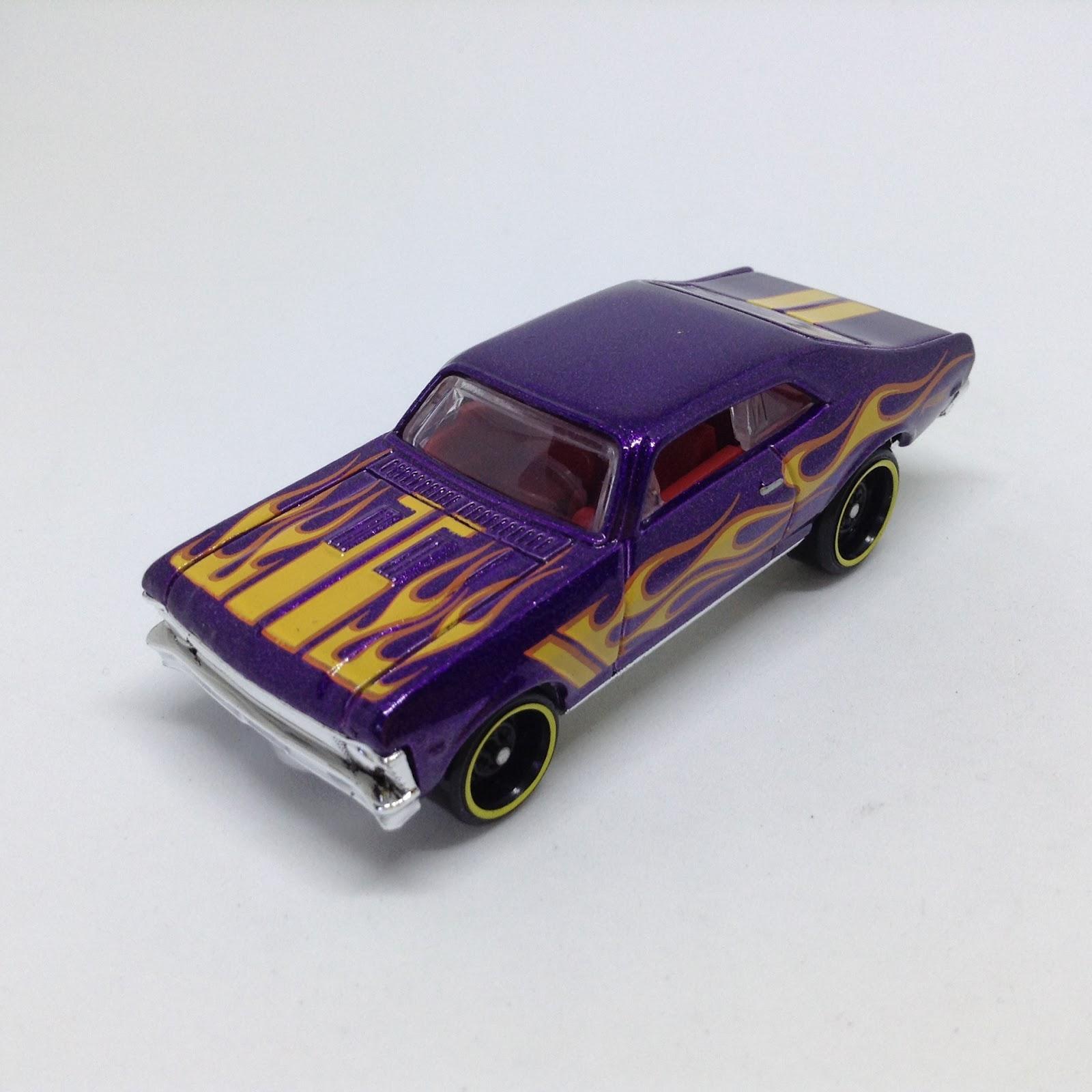 Julian S Hot Wheels Blog 1968 Chevy Nova 2018 Hw Flames