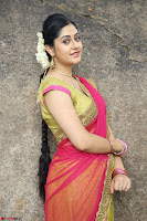 Actress Ronika in Red Saree ~  Exclusive celebrities galleries 005.JPG