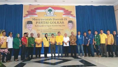 Musda IX DPD Partai Golkar Kabupaten OKU