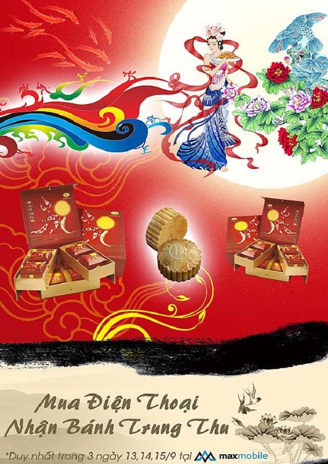 maxmobile special event don trang vang ring ngan qua tang