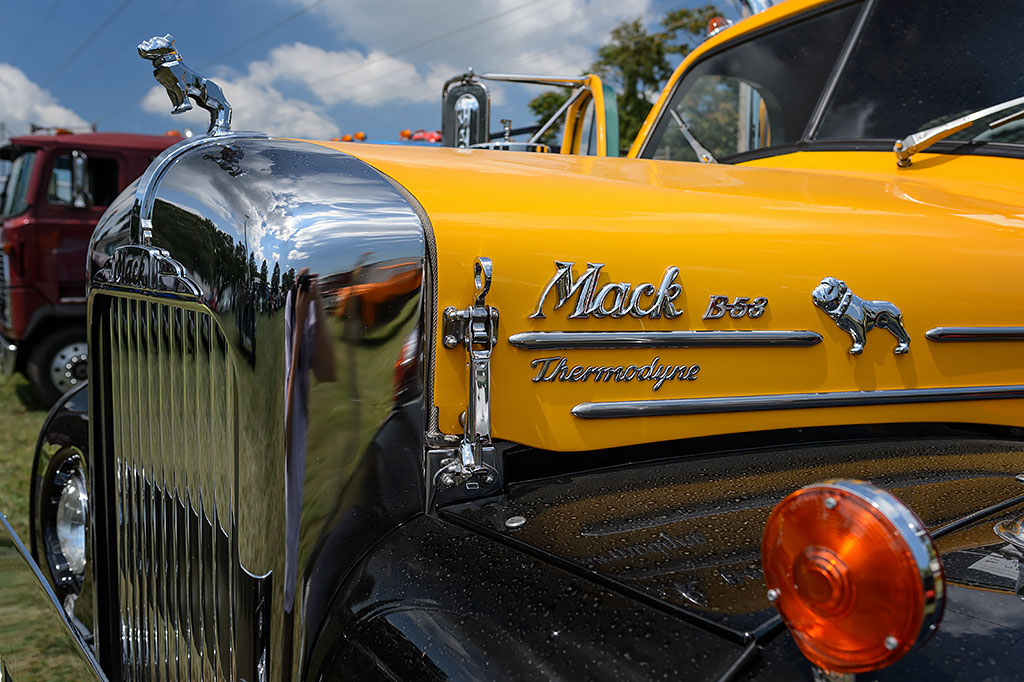 Vintage Mack Truck at Berryville Steam Show