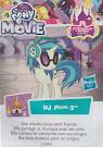 My Little Pony Wave 22 DJ Pon-3 Blind Bag Card