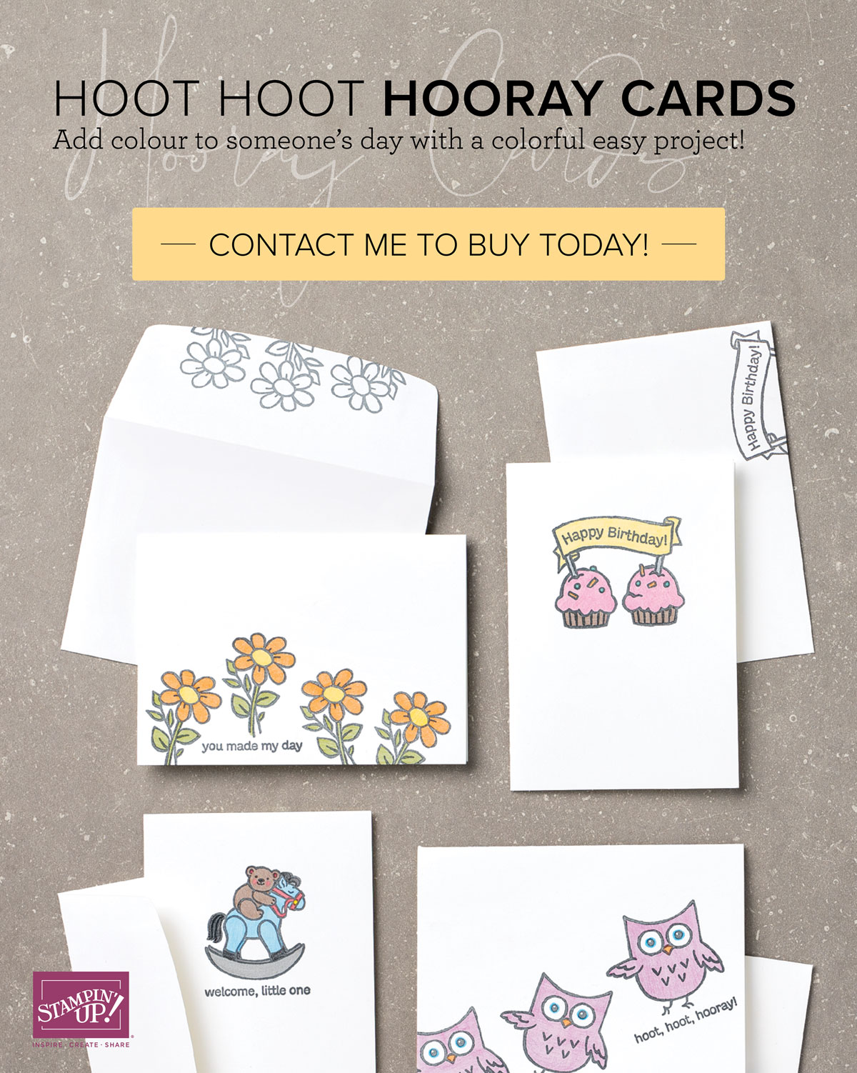 HOOT HOOT HOORAY CARD BUNDLE