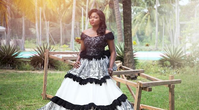 The contemporary Afro-European label, Ayo Van Elmar has unveiled celebrated Nigerian actress Funke Akindele, popularly known as Jenifa as her new face.