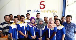 Loker Bagian Admin di Bekasi PT. Lima Ventura Terbaru 2017