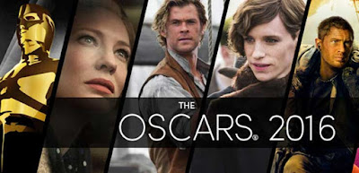 Winners List of The Oscars Awards 2016
