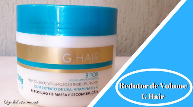 reduzir o volume dos cabelos