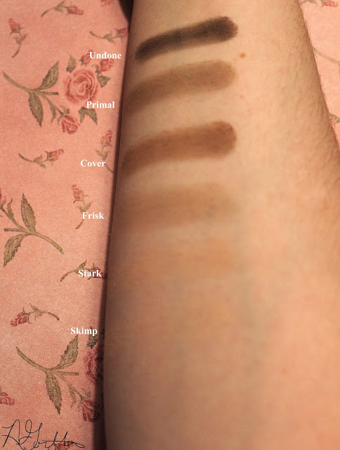 Swatch of Naked 2 Basics Palatte