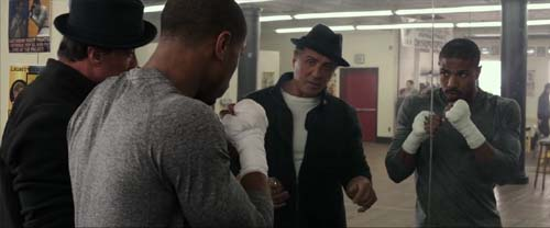 Sylvester Stallone Michael B. Jordan in Creed