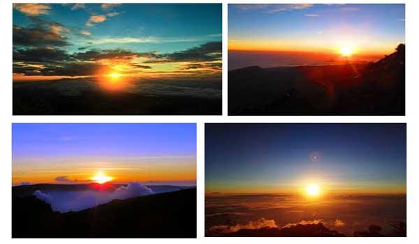 Gunung dengan Pemandangan Sunrise Terbaik di Indonesia