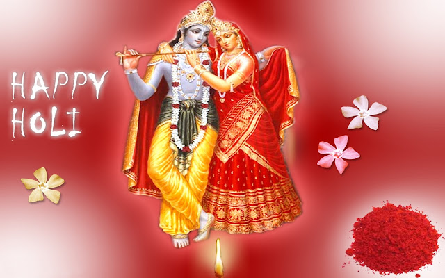 Happy Holi Radha Krishna Wallpaper-Download Most Beautiful Wallpaper For Free