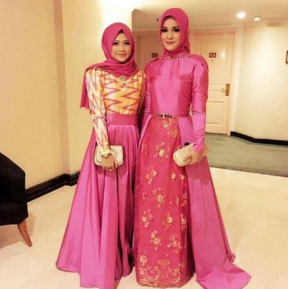 37 Model Gaun Pesta Muslim Modern 2018 Syar I Coruja Design Baju