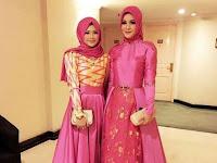 Gambar Model Gaun Pesta Muslim Modern Paling Trendi