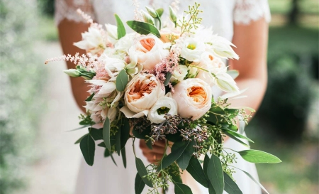 Flowers, a Big Part of Bridal Accessories