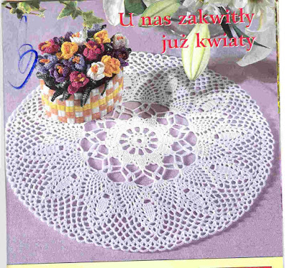 Crocheted motif no. 715