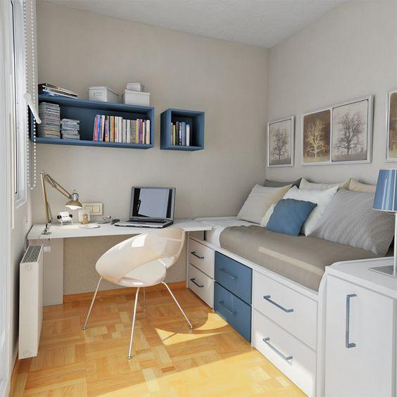 Cómo amueblar una habitación juvenil pequeña
