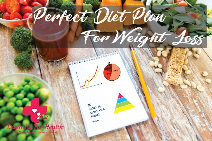 A Perfect Diet Plan for Weight Loss