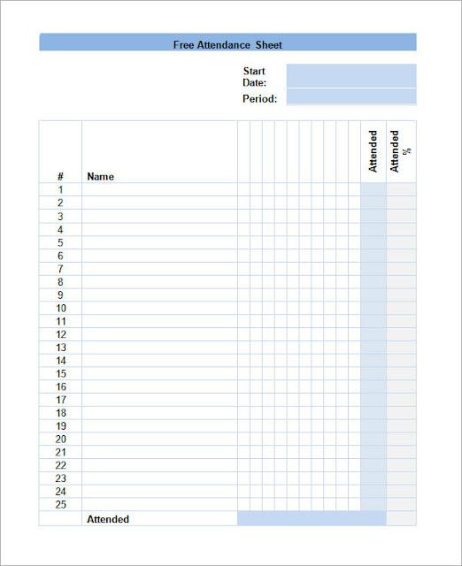 Get Printable Calendar  Employee Attendance Calendar Tracker - daily attendance template