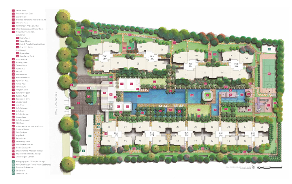 Hundred Palms Residences Siteplan
