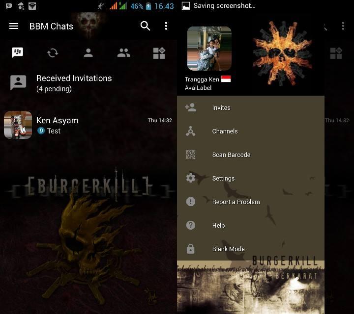 BBM MOD Burgerkill v3.2.5.12 APK