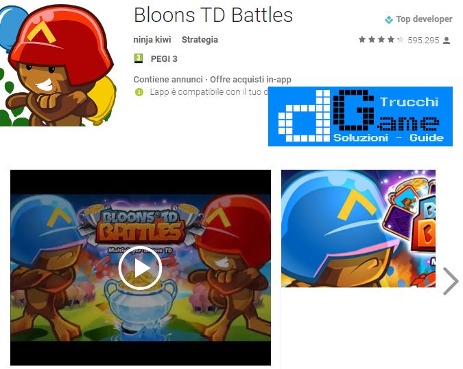 Trucchi Bloons TD Battles Mod Apk Android v 4.0.4