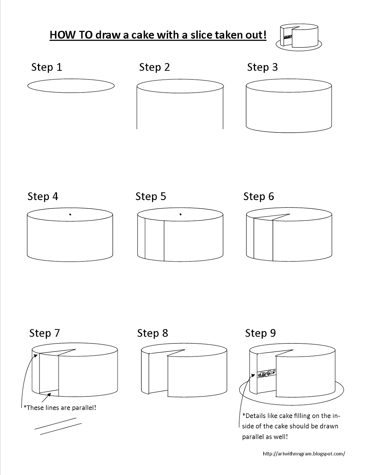 Drawing Cake Fashion Illustration How To Drawing