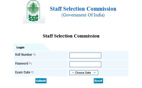SSC CPO Paper-1 Answer Key Release Officially- Check Now - SSC Officer