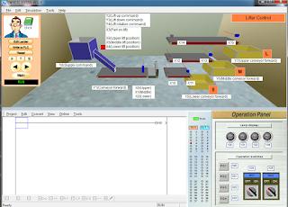 Screenshot 4 : Mitsubishi FX-Series PLC Trainer | Softwares PLC